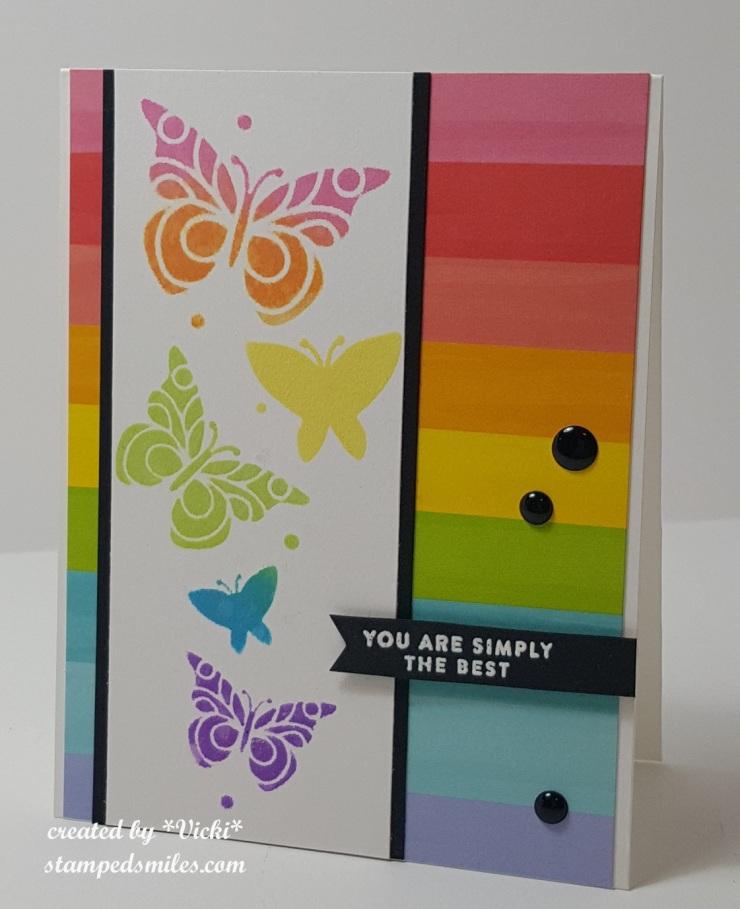 Vicki-CCT539-rainbow butterflies