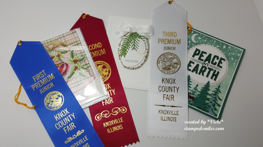 Vicki-County Fair Christmas Card entries