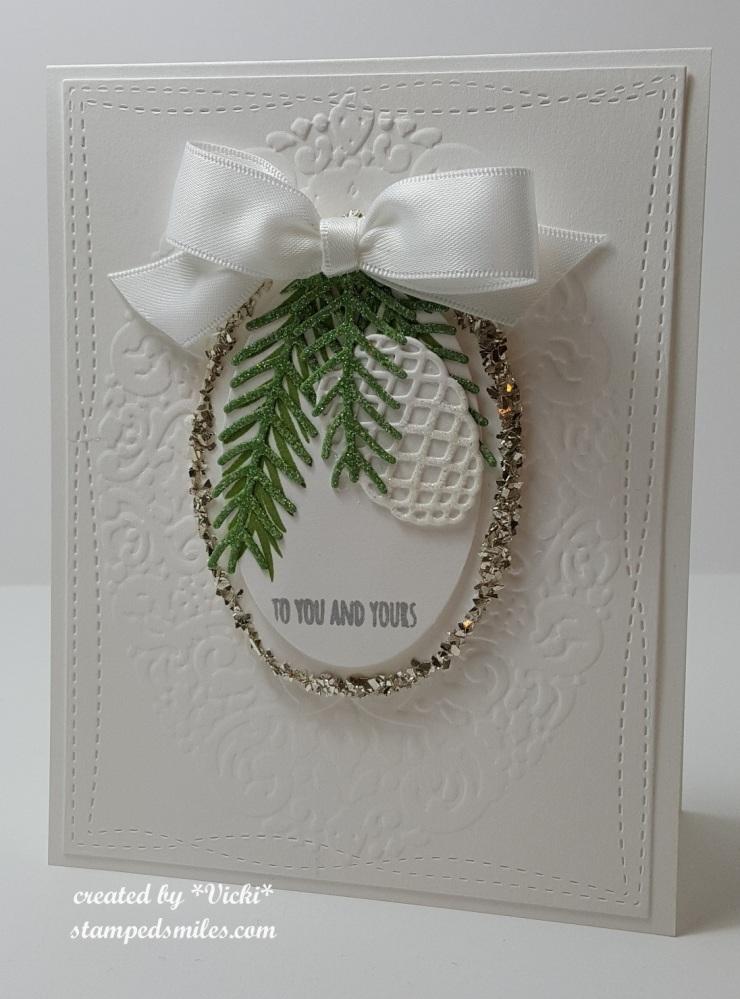 Vicki-SU! Christmas Card-County Fair 2nd place