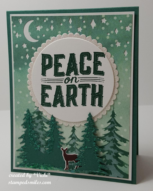 Vicki-SU! Christmas Card - County Fair 3rd place