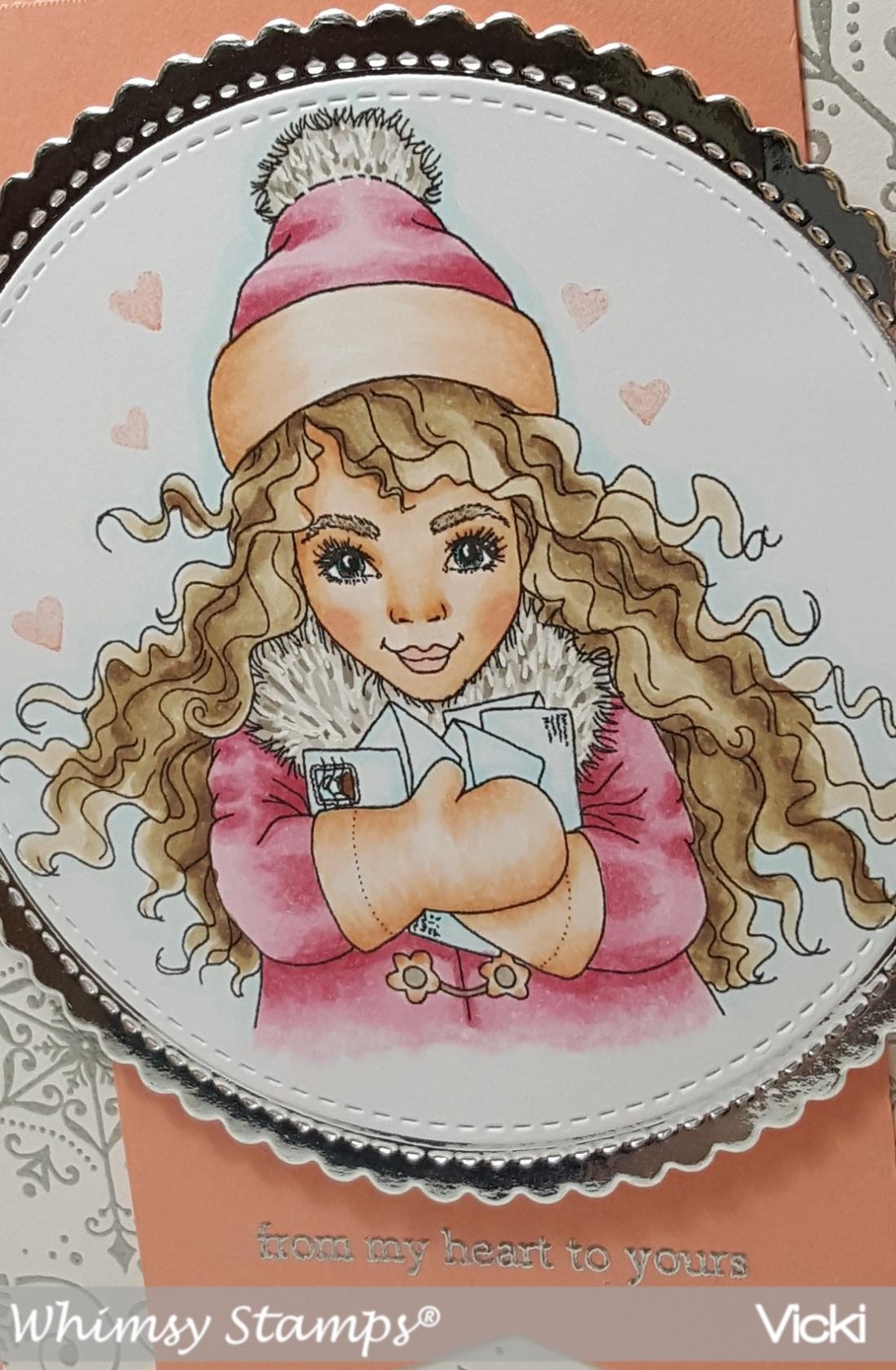 Vicki-WS-Pretty Girl Happy Mail-Oct 9-close