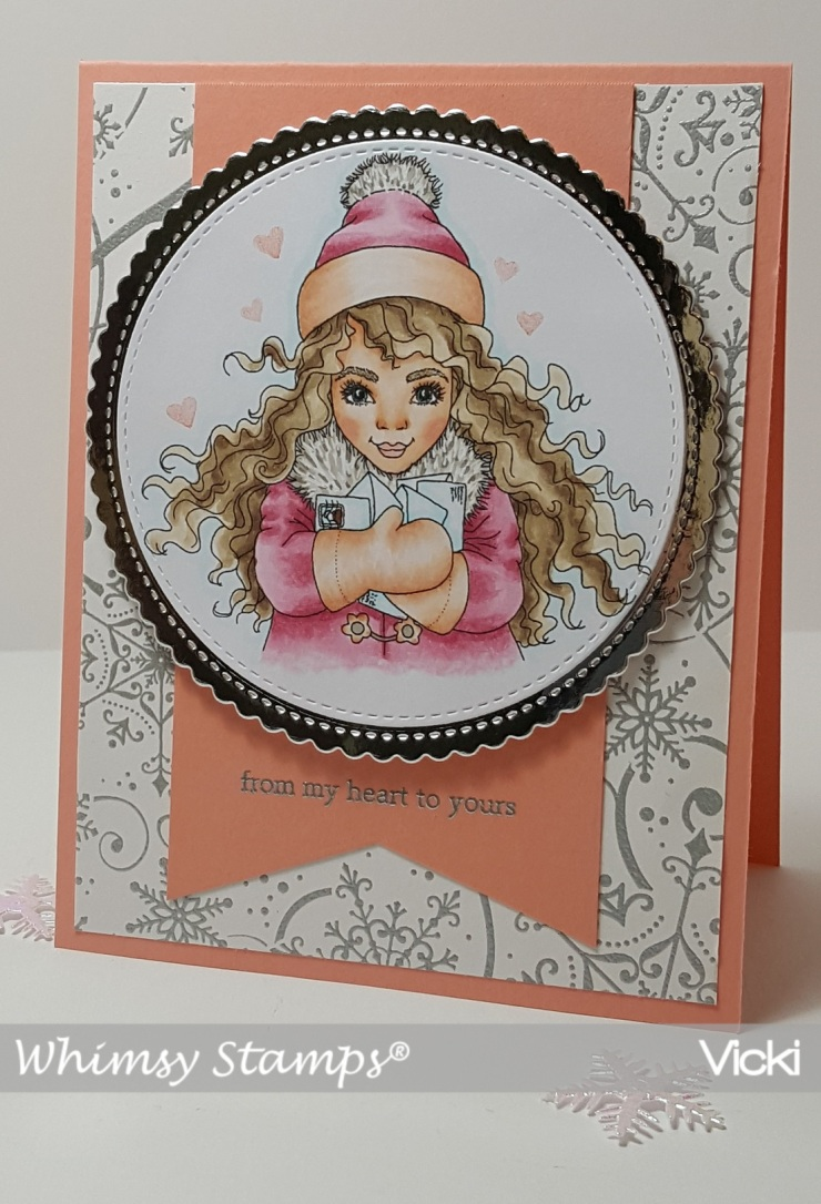 Vicki-WS-Pretty Girl Happy Mail- Oct 9