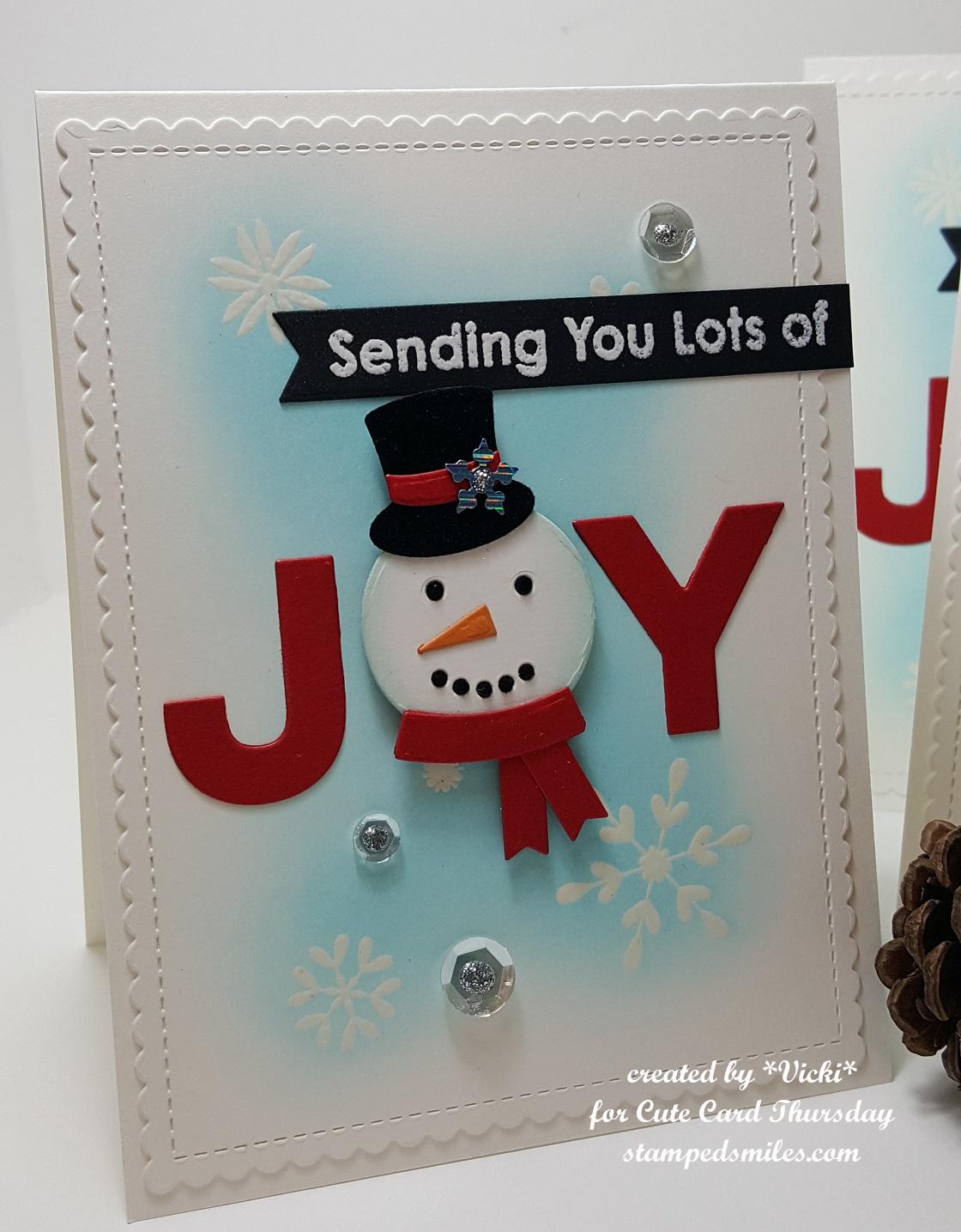 Vicki-CCT561-Snowman Joy