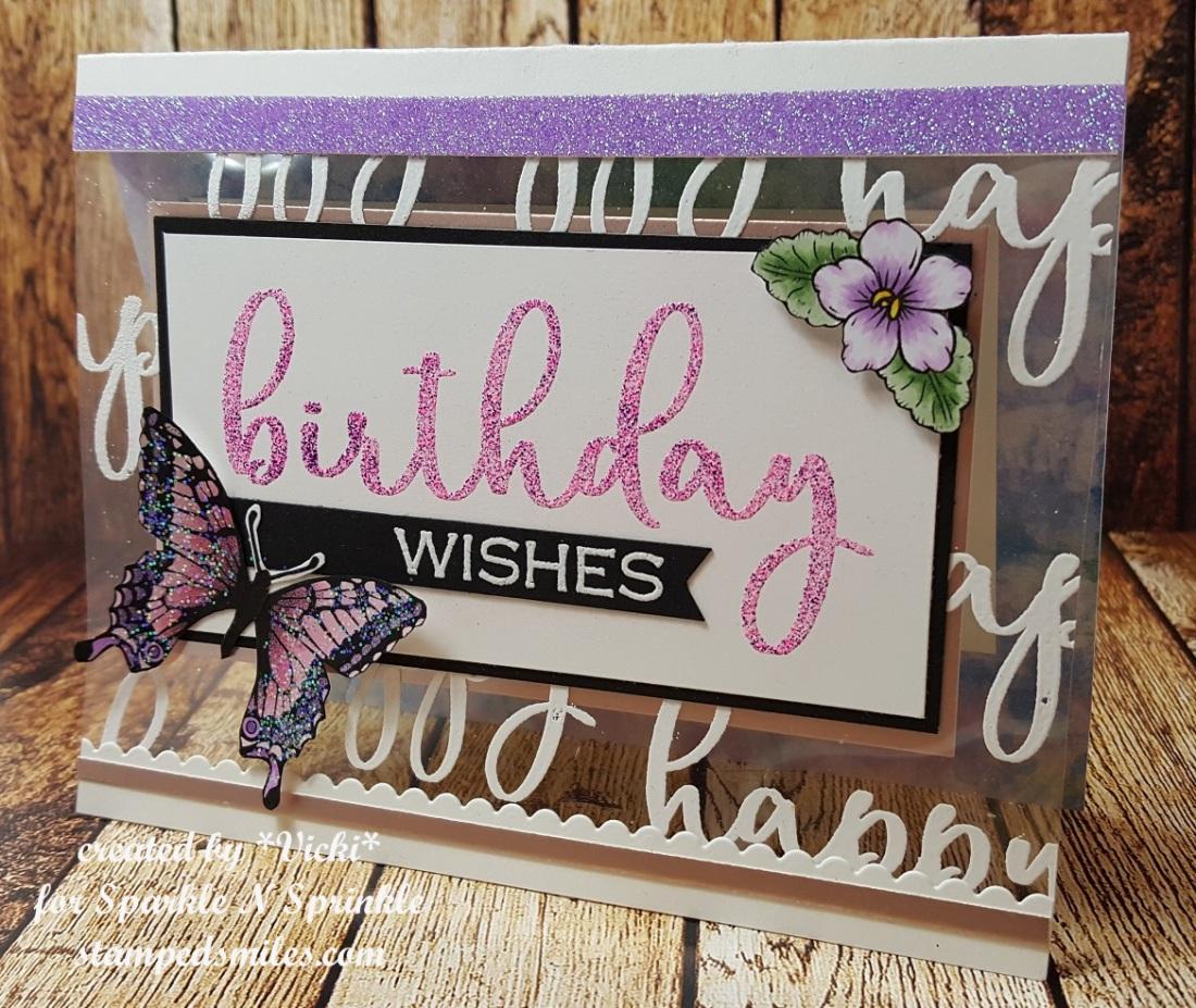 Vicki-SnS-Clearly Birthday