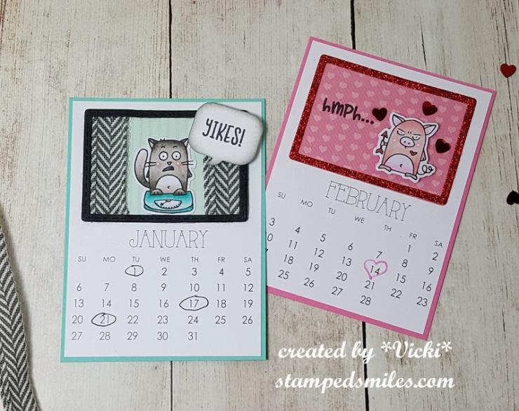 vicki-cct566-critter calendar