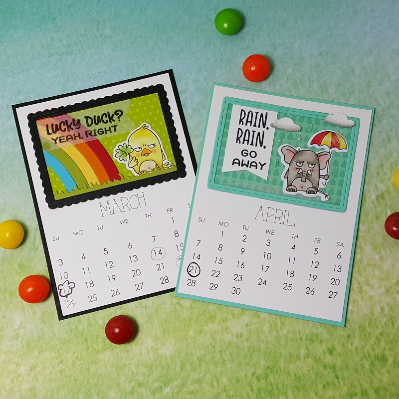 Vicki-TE-March and April Grumplings Calendar