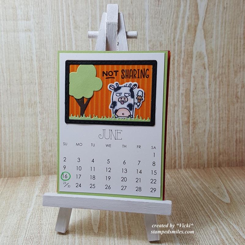 Vicki-Calendar Month June