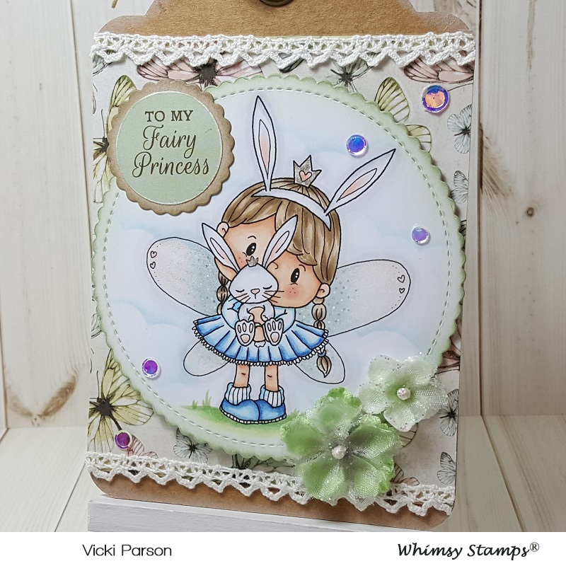 Vicki-PC Fairy Princess Bunny Tag-close