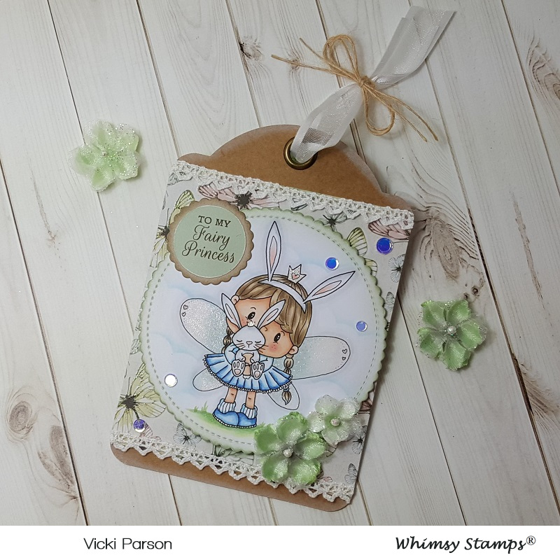 Vicki-PC Fairy Princess Bunny Tag-flat