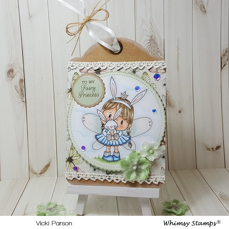 Vicki-PC Fairy Princess Bunny Tag