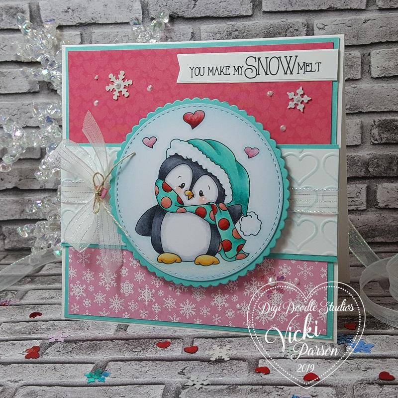 Vicki-DDSWintertimePenguins-SnowMelt