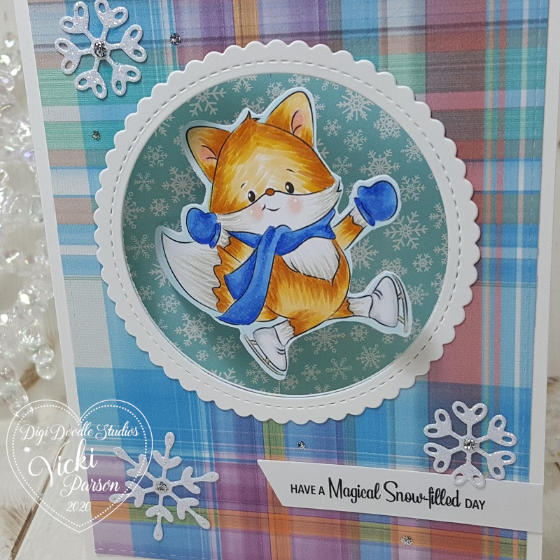 Vicki-DDS-Spinner Fox Card video-close