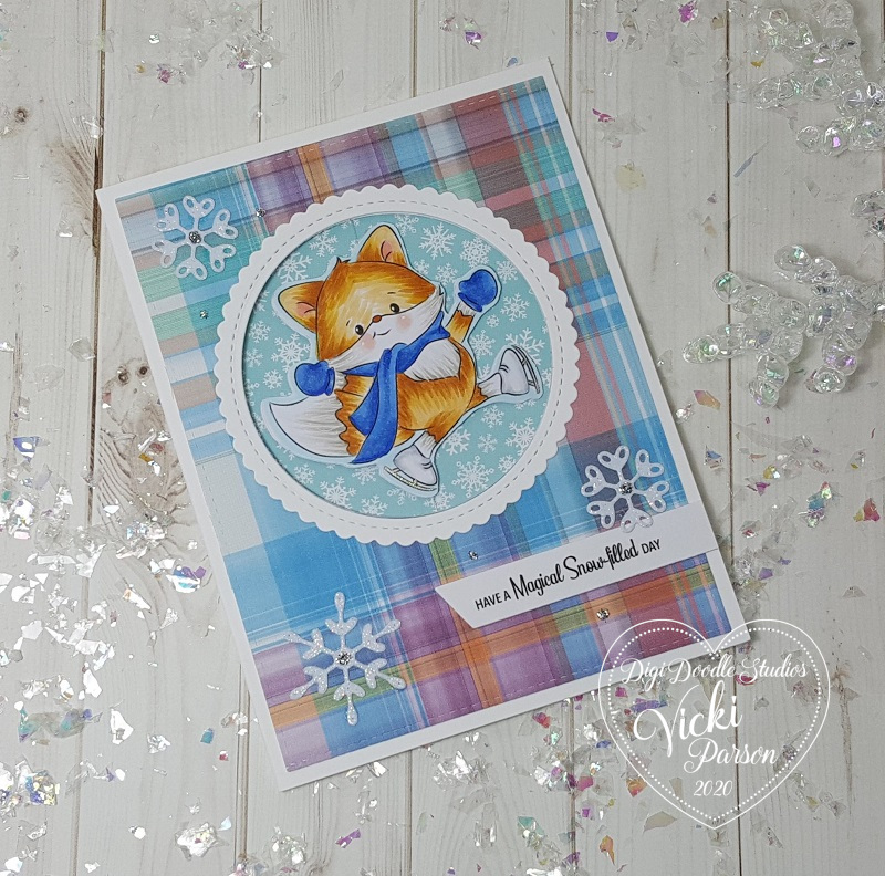 Vicki-DDS-Spinner Fox Card video-flat