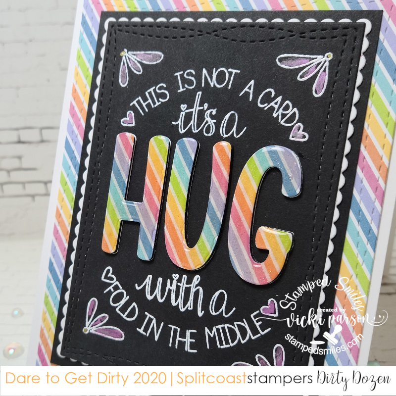 Vicki-DTGD20basementstamper-words-HUG-close